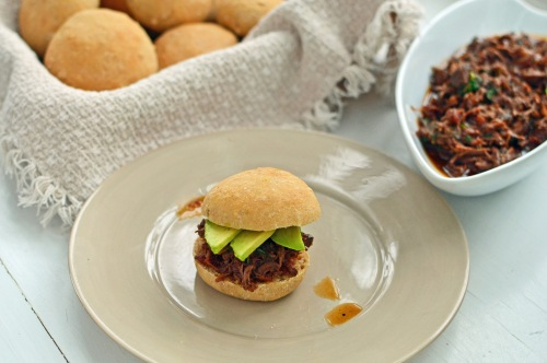 Mexican Beef Sliders with Avocado 5