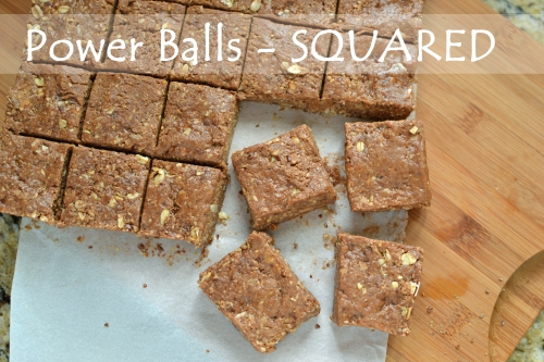 Power Balls Squared - A simple and nutritious snack